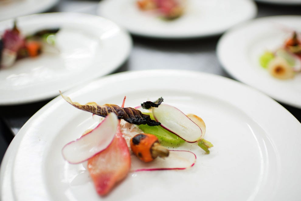 Chef Sonya Coté's beautiful and delicious plates