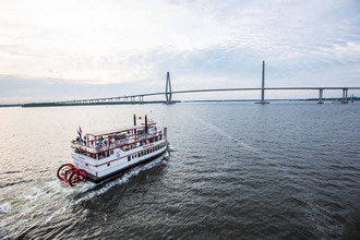 Charleston Harbor Tours Keep the Light Shinin' Holiday Dinner Cruise