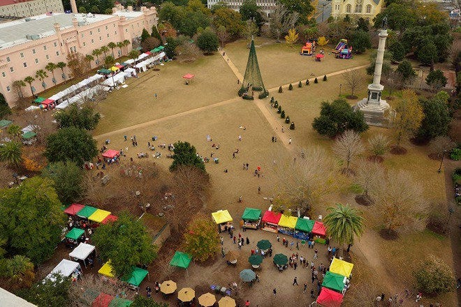 Holiday Magic at Marion Square