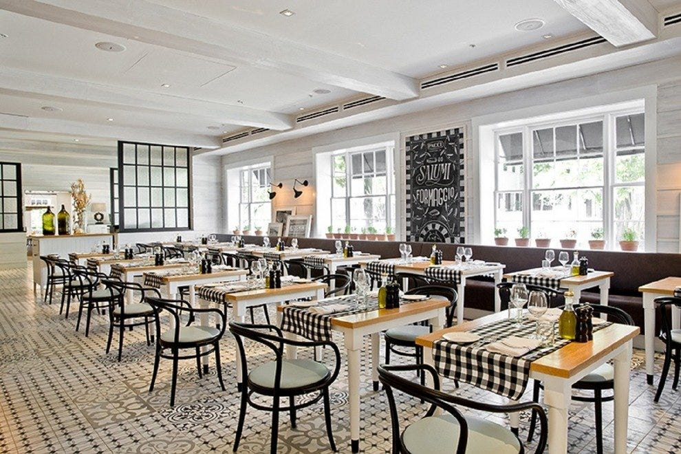 Pacci Italian Kitchen And Bar In The Brice Hotel