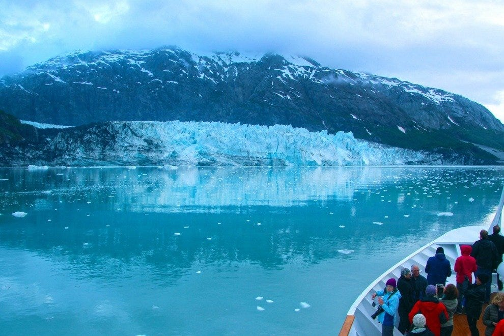 Margerie Glacier:    Unforgettable Encounter in Alaska's Glacier Bay National Park