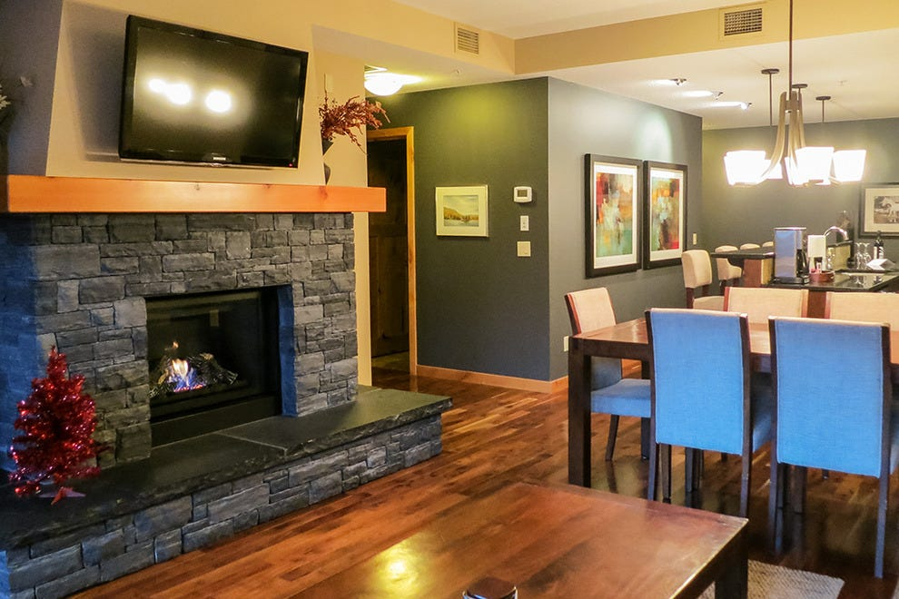 Interior Spring Creek Vacations Resort Canmore AB