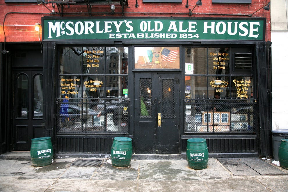 New York Irish Beer Pubs 10best English Pub Reviews