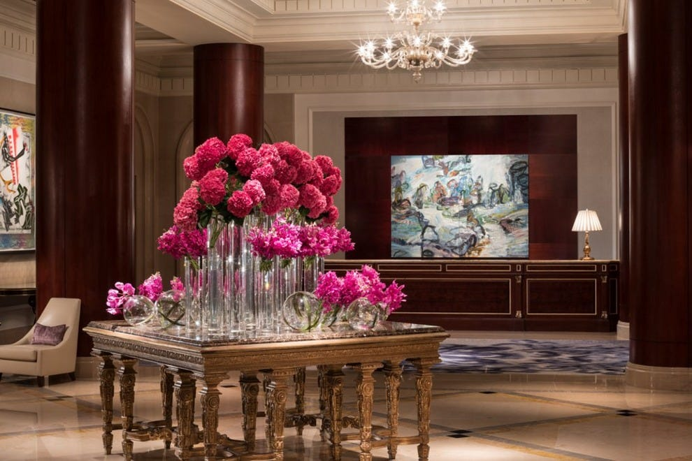 Lobby at the Ritz-Carlton Dallas