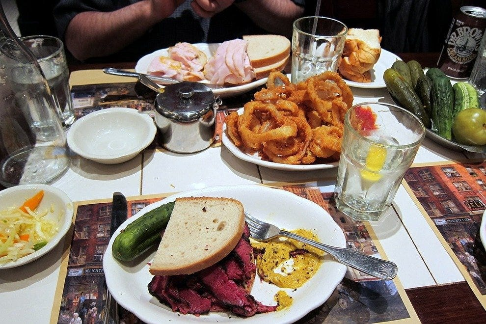 Deli Dining: NY's 10best where you'll never leave hungry