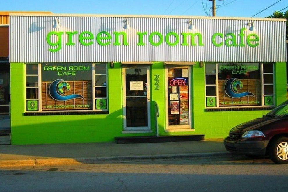绿色的房间