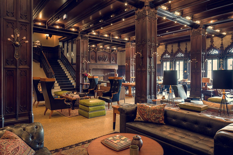 Chicago athletic association chicago hotels review for Boutique hotels chicago loop