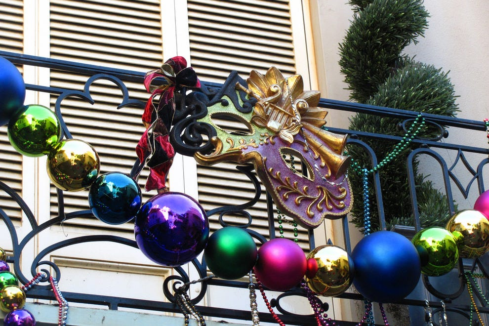Keep an eye out for the city's beautiful decorations