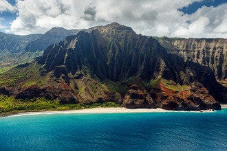 Water ski, jet ski, surf, stand-up paddle and hydrofoil all over the blue waters of Kauai