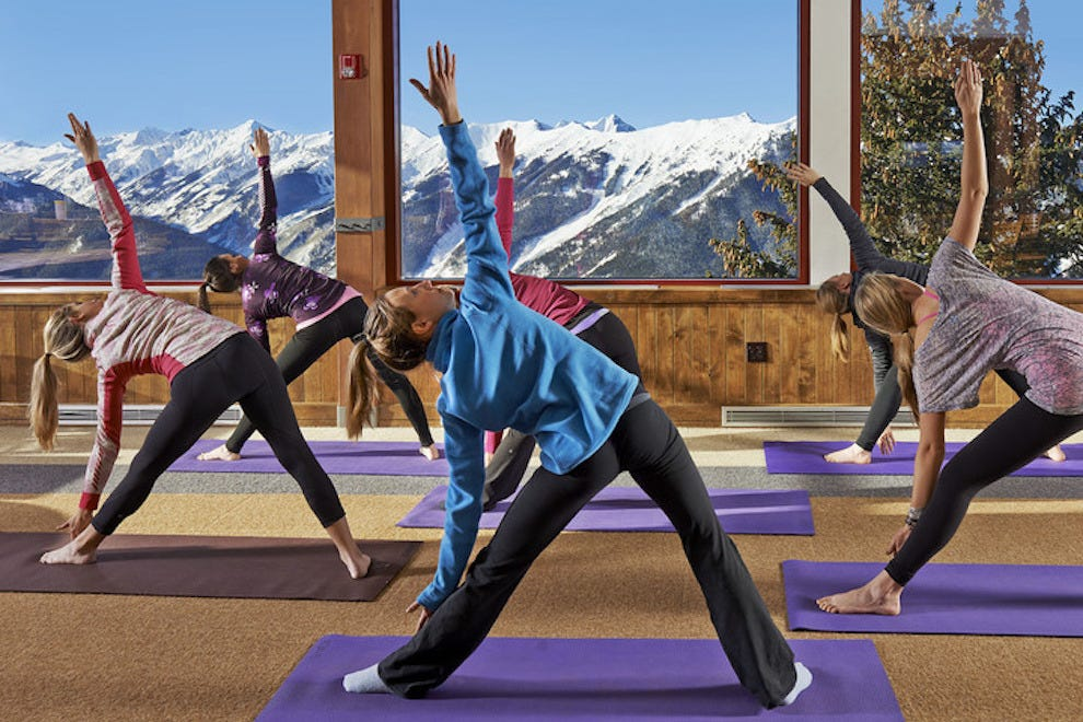 Sundeck Yoga Winter Aspen Snowmass