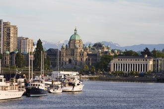 Classic Victoria BC, Where Old and New Converge