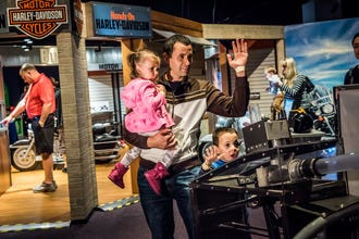 Two-Wheelin'! Hands-On Harley-Davidson Exhibit Comes to OSC