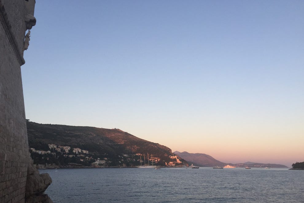 Catch the sunset at Buza Bar in Dubrovnik