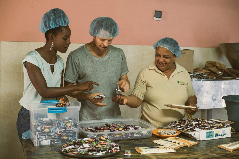 Women's artisan chocolate cooperative in the Dominican Republic