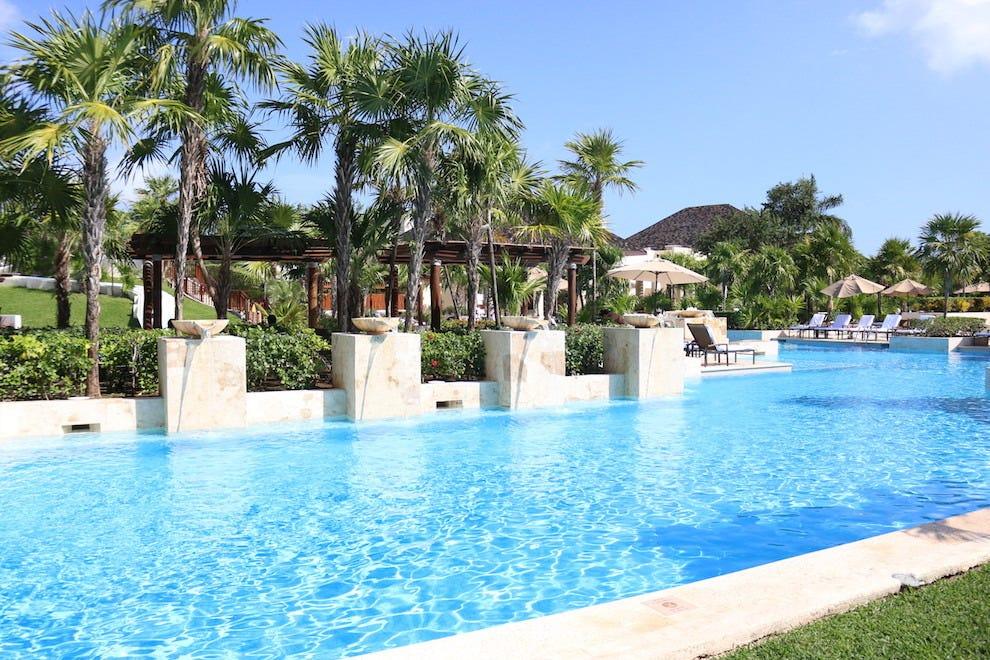 Pool View at Fairmont Mayakoba