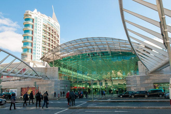 Shopping Malls and Centers in Lisbon
