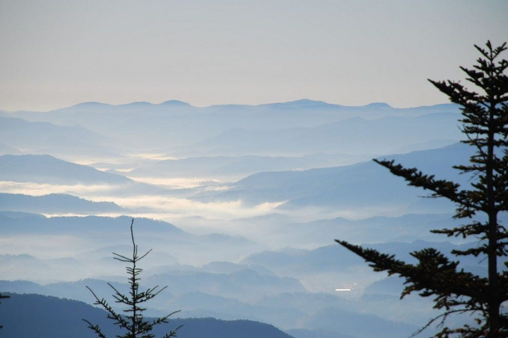 The Great Smoky Mountains National Park had 10,099,276 visitors in 2015.