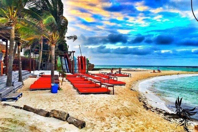 Tropical Paradise Dreams Come True at the 10 Best Beach Clubs in Cancun