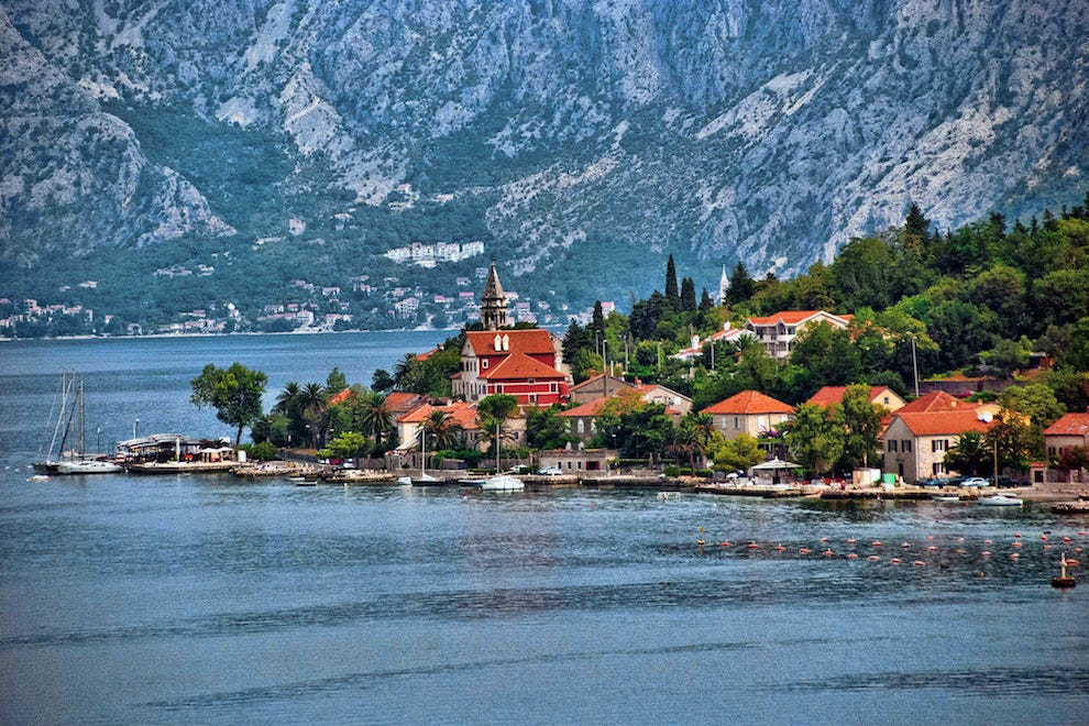 Perch up in a villa stay on Kotor Bay in Montenegro