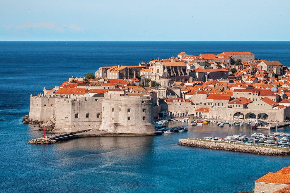Start a tour of Croatian wine in the coastal town of Dubrovnik