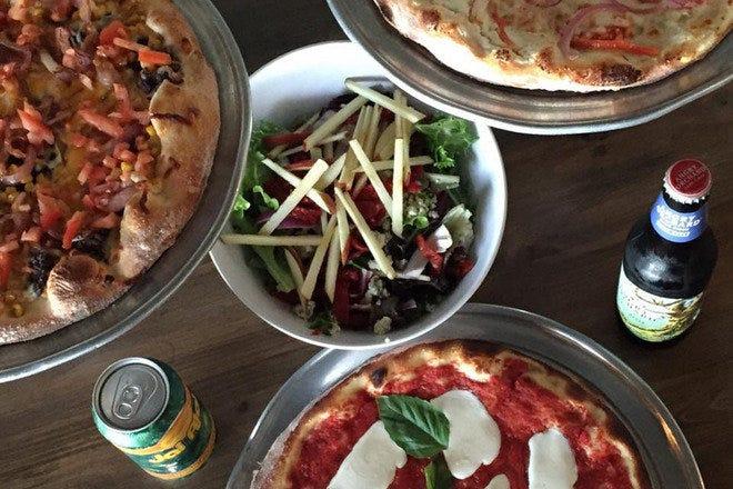 披萨在坦帕