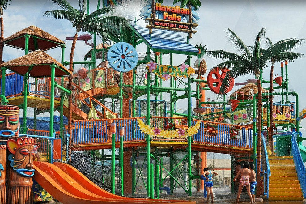 Hawaiian Falls Waterpark - North Garland