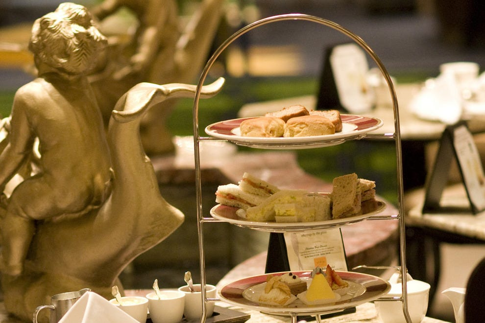Drake Hotel Palm Court Traditional Afternoon Tea