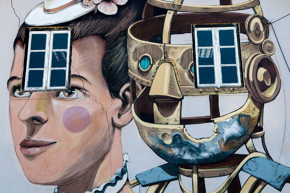 真正的里斯本街头艺术之旅
