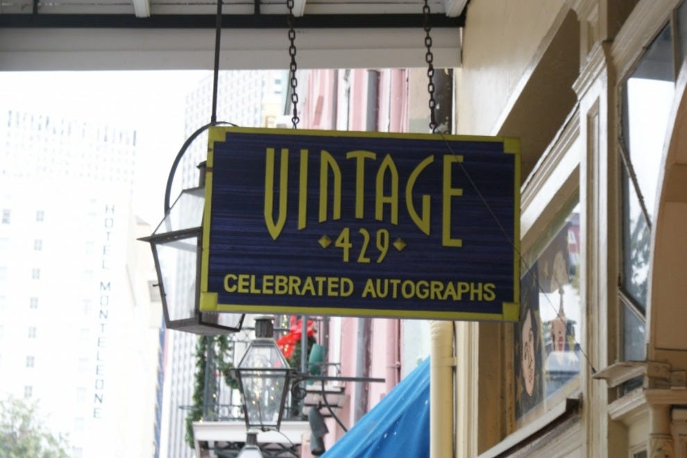 Vintage clothing stores in new orleans