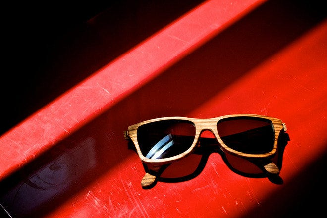 Sunglasses shine on at Pied Nu