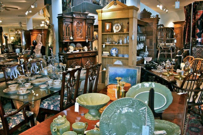 Consignment Heaven Is One Of The Best, Antique Furniture Dallas