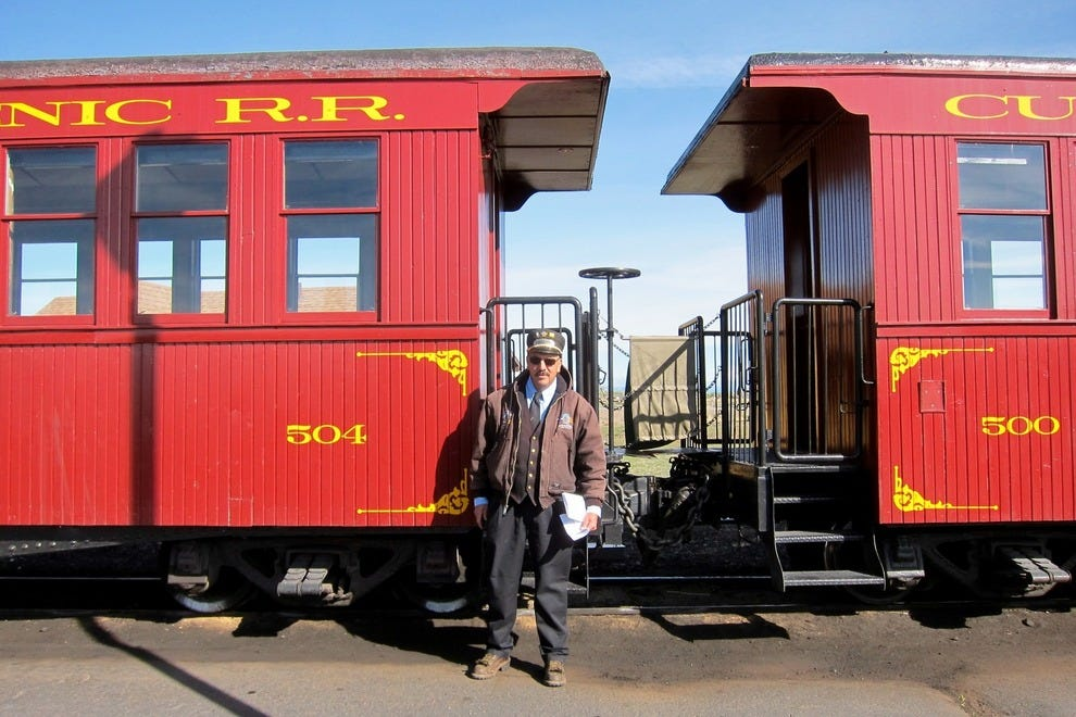 Between Memorial Day and leaf season in October, trains leave the Antonito and Chama stations daily at 10 a.m.