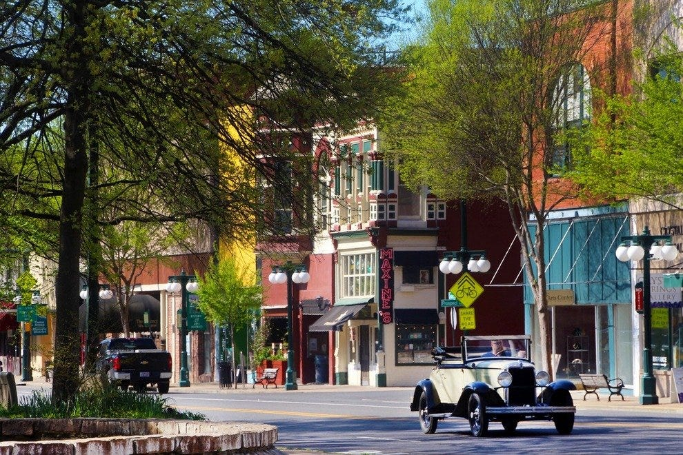 Go Back in Time with a Stroll Through Historic Downtown