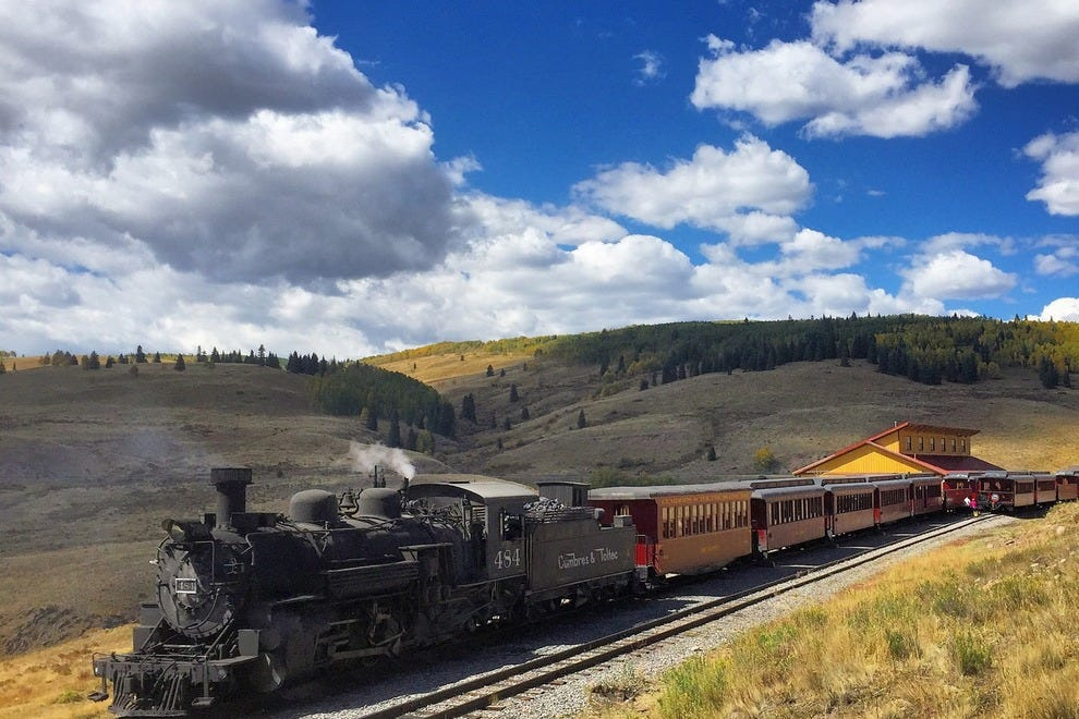 Osier is the one place other than the depots where passengers on the daily excursions can get off the train