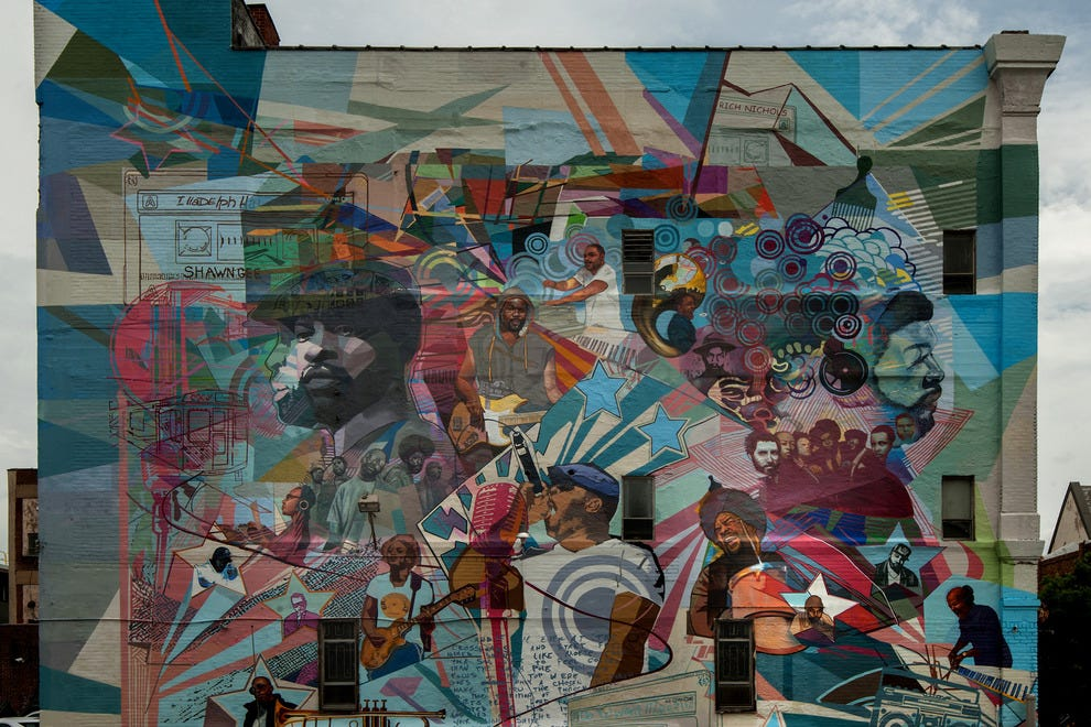 10 things about philadelphia you probably didn 39 t know for City of philadelphia mural arts program