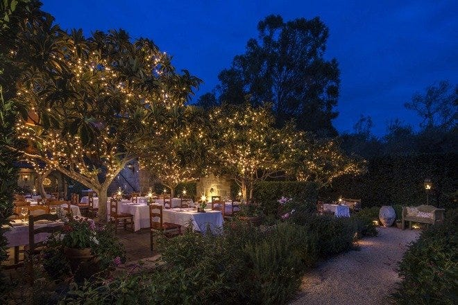 Romantic Dining in Santa Barbara