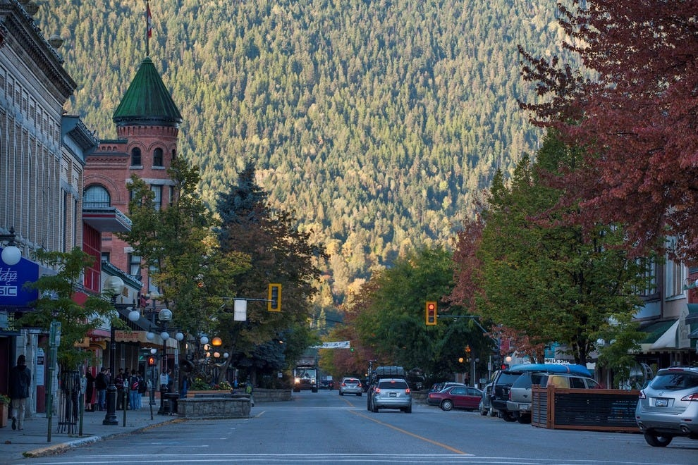 Downtown Nelson oozes quirky charm