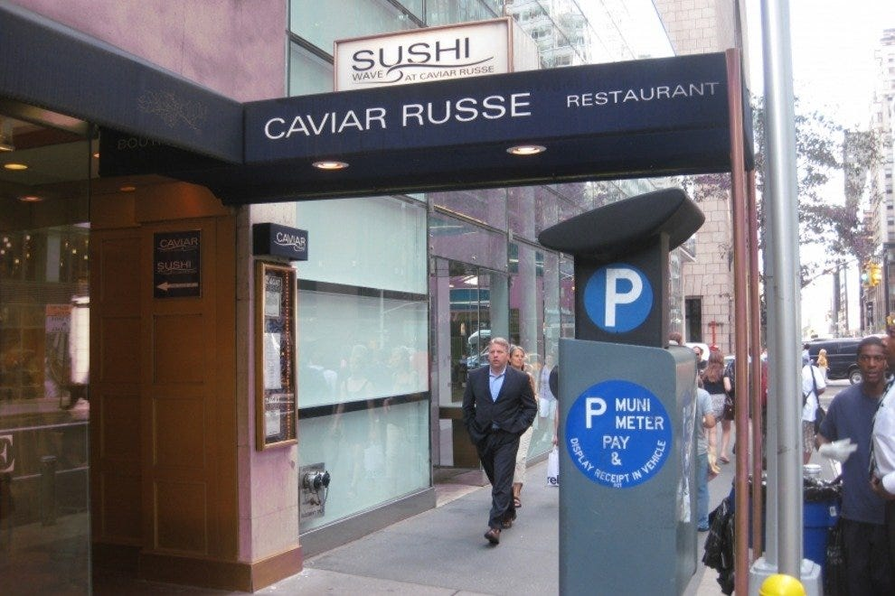 Caviar Russe Restaurant & Wave Sushi