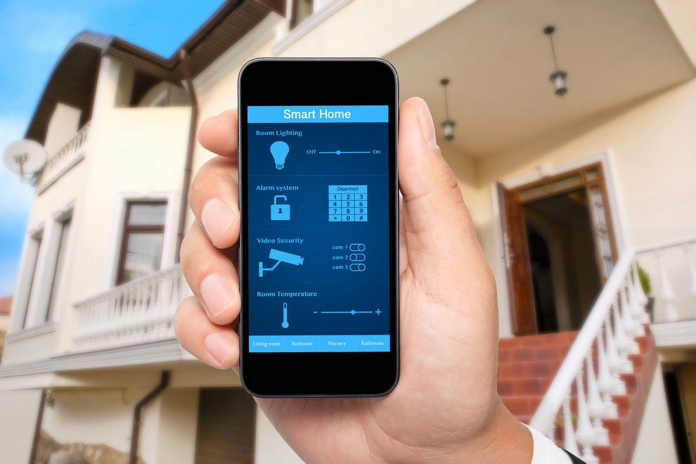 Smartphone Home Automation 10 gadgets that will protect your home while you're away: trip