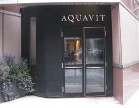 New york seafood restaurants 10best restaurant reviews for Aquavit and the new scandinavian cuisine