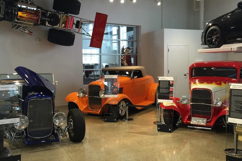 Hot rods at The Automobile Gallery