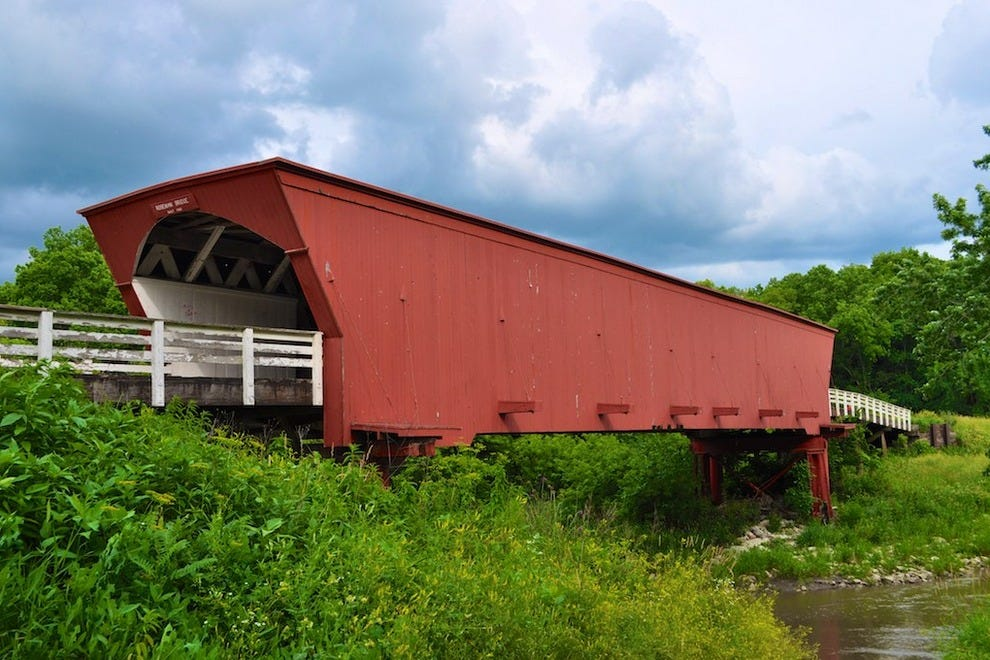 Roseman Covered Bridge