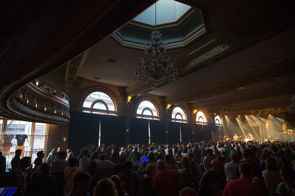 Music lovers flock to the Crystal Ballroom's historic space