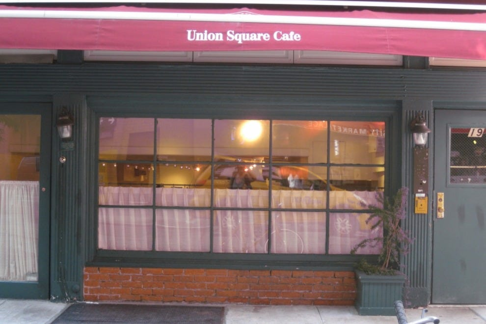 Union square caf new york restaurants review 10best for American continental cuisine