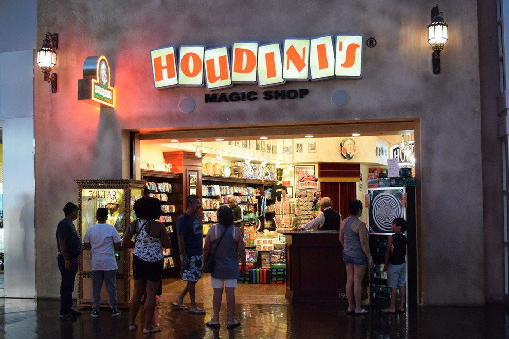 Houdini's Magic Shop