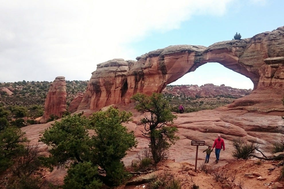 Broken Arch is a bit of a misnomer, though it does have a pronounced crack.