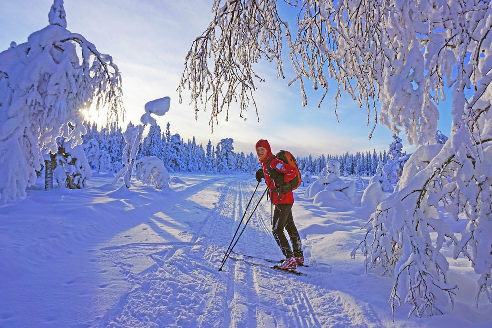 Winter wonderlands abound, from Nordmarka to spots far up north
