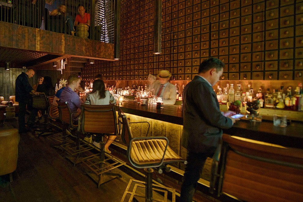 For the first time bangkok is a craft cocktail powerhouse for P kitchen bangkok menu