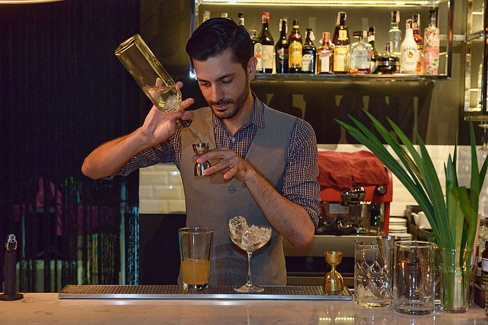 Michele Montauti, star bartender at MIKYS