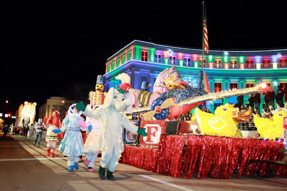 9news Parade Of Lights Denver Attractions Review 10best